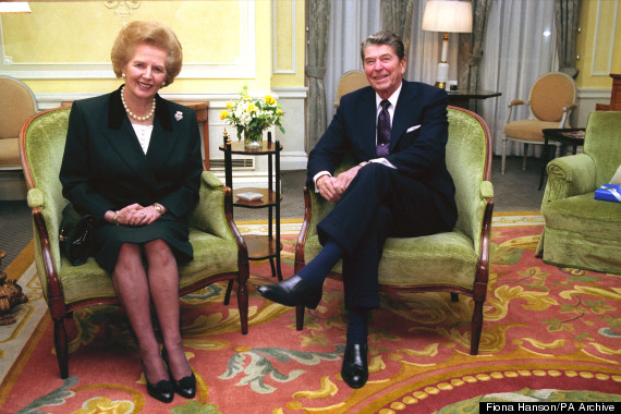 margaret thatcher reagan
