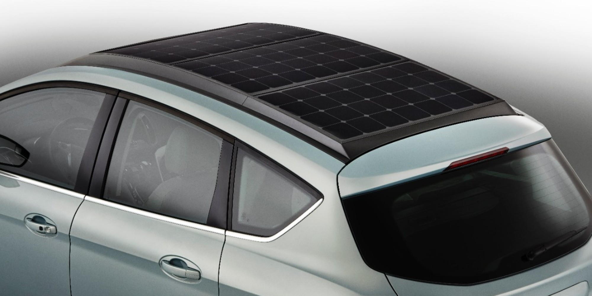 ford is making a concept car with solar panels for a roof huffpost rh huffingtonpost com Solar Panel Roof System Solar Panel Roof Shingles