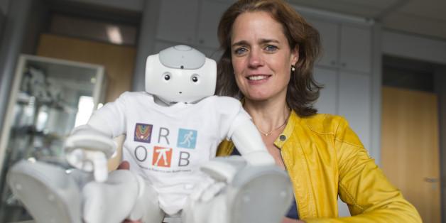 Katja Mombaur, Mathematik-Professorin an der Uni Heidelberg