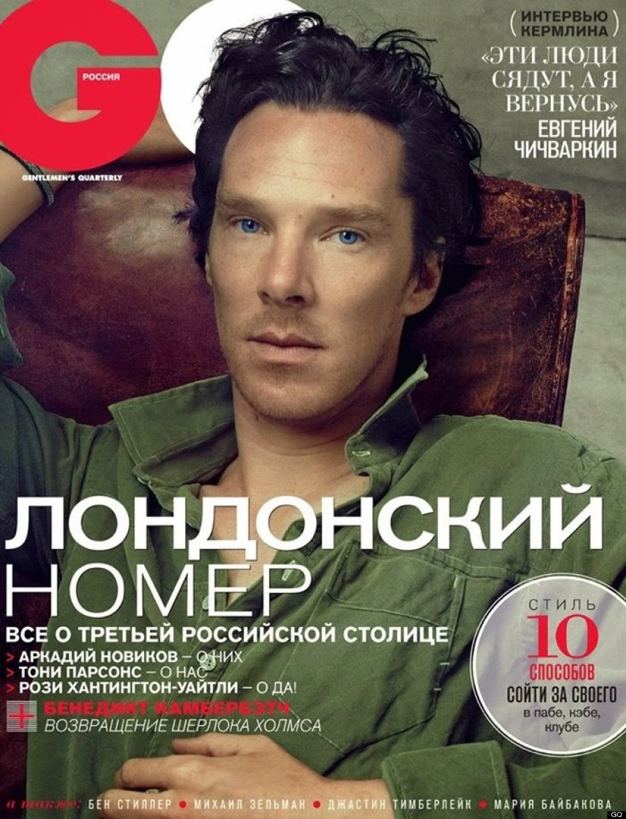 Benedict Cumberbatch's Russian GQ Cover Is Predictably Hot ...