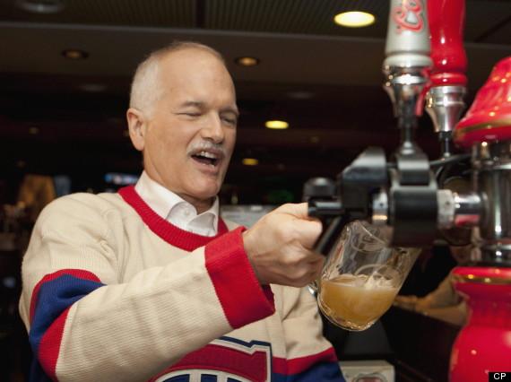 jack layton beer