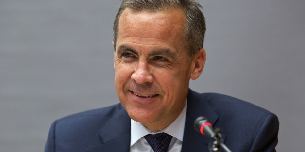 FILE PHOTO: Mark Carney, chairman of the Financial Stability Board (FSB), speaks during a news conference at the Bank for International Settlements (BIS) in Basel, Switzerland, on Tuesday, June 25, 2013. Carney's first six weeks as Bank of England governor will test his ability to turn activist rhetoric into policy reality as he seeks to accelerate the struggling U.K. economy to what he calls 'escape velocity.' Photographer: Gianluca Colla/Bloomberg via Getty Images