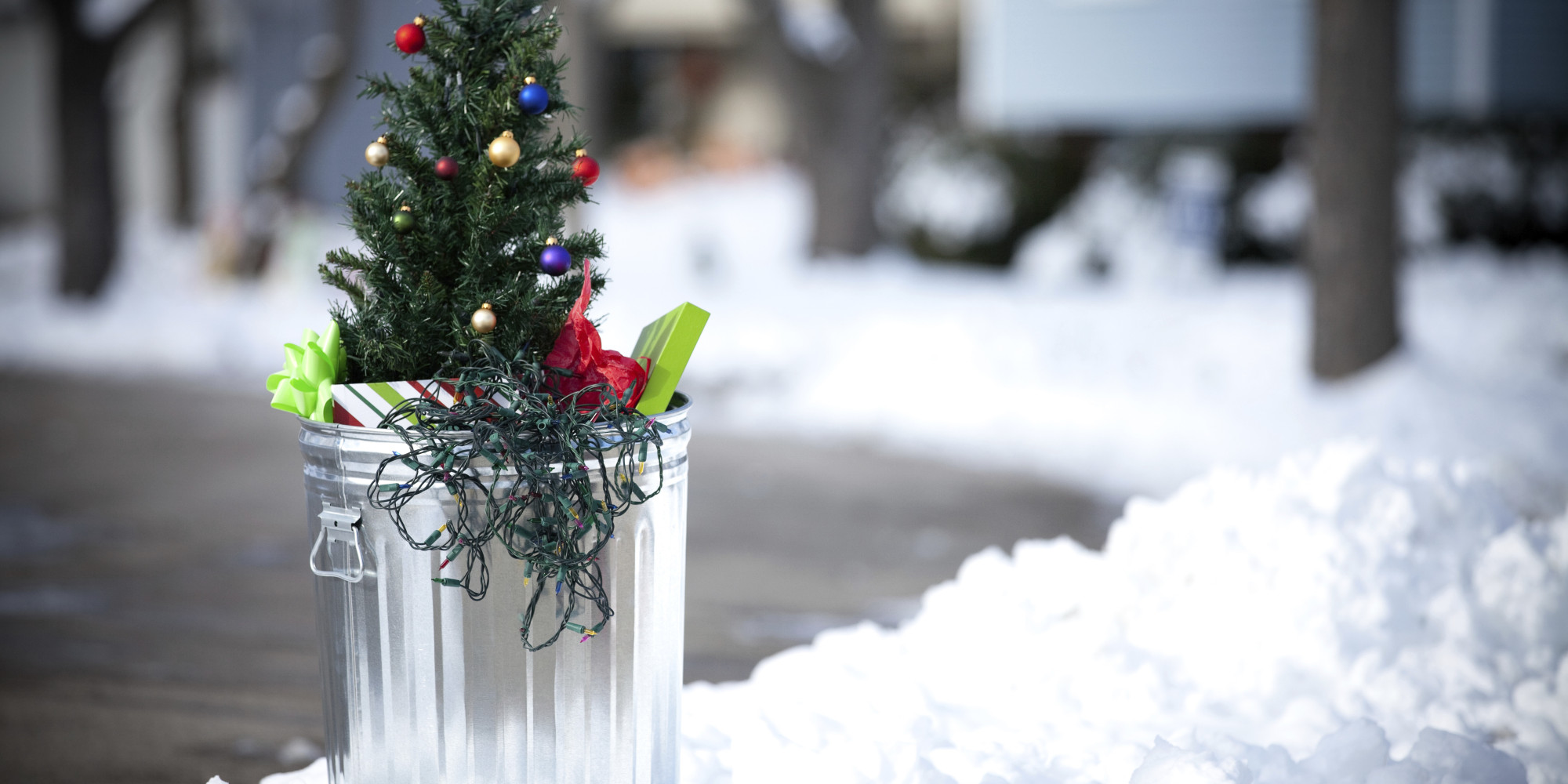 Taking Down Holiday Decorations | HuffPost