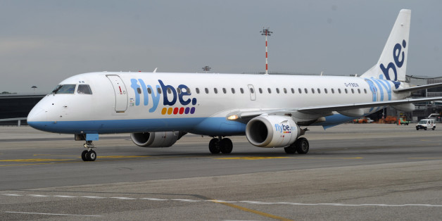 A FlyBe airplane (file photo)