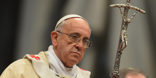 The real Pope Francis, not a cardboard cut-out