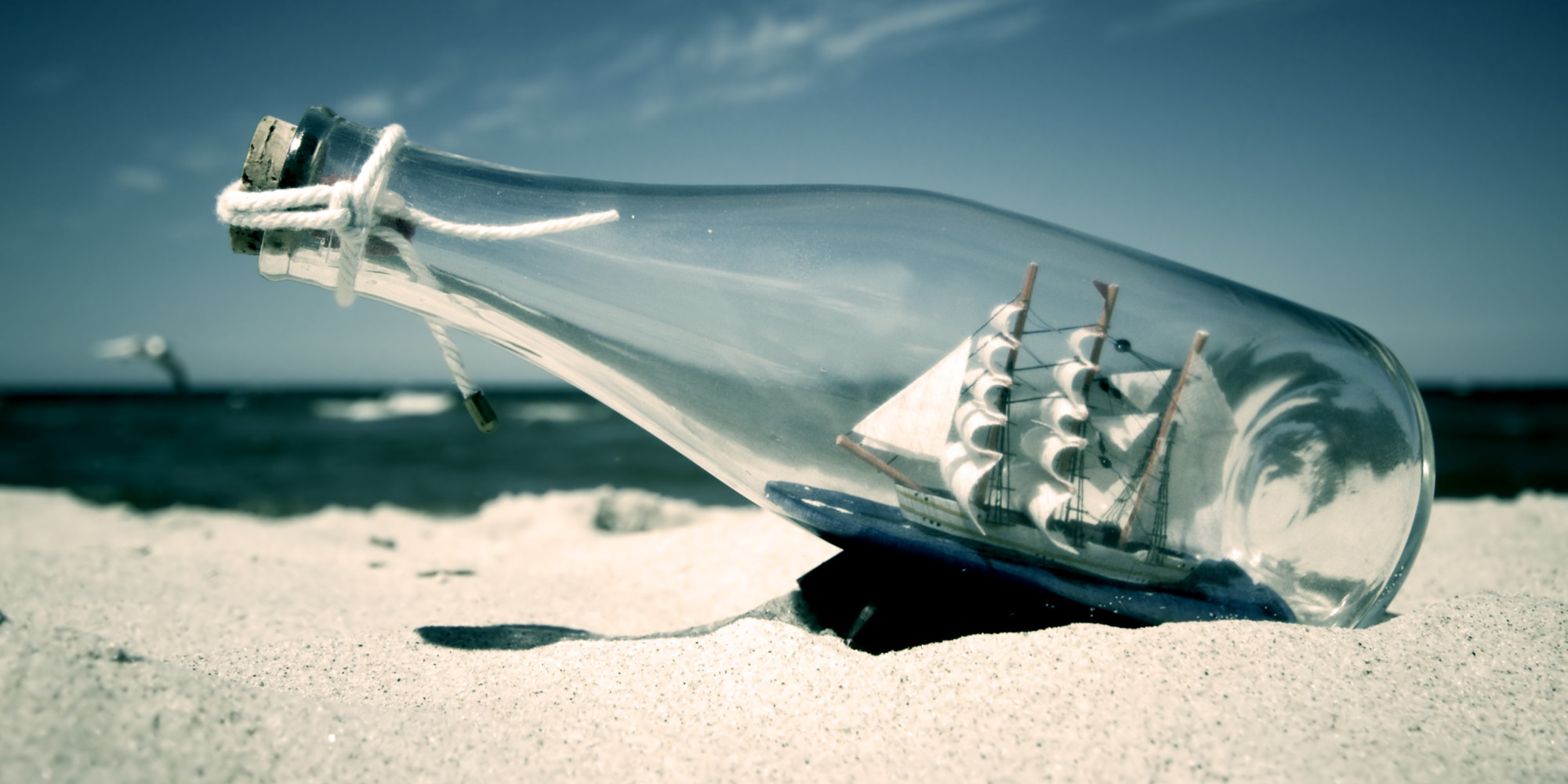 it took 23 years but message in a bottle finally gets response huffpost