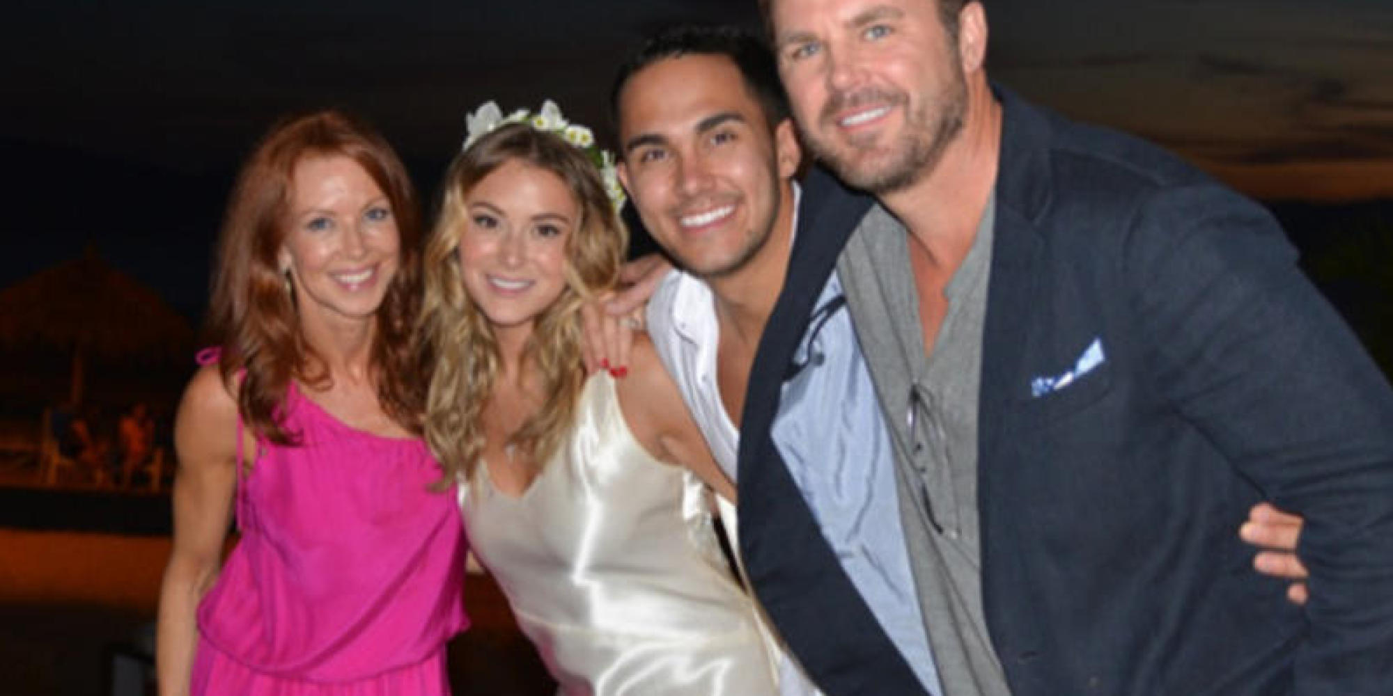Alexa Vega Marries Carlos Pena After Two Months Of Engagement Updated Huffpost