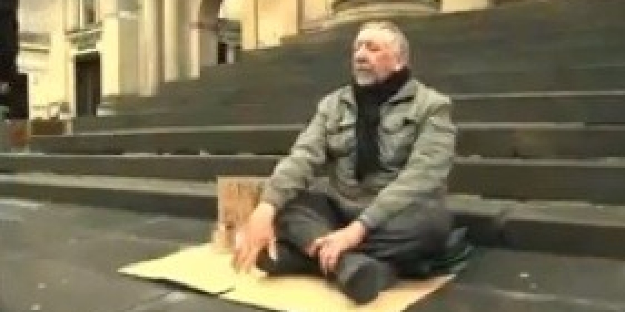 Blind Man Begging fers Beautiful Reminder Why Life Is