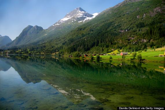 hornindal lake