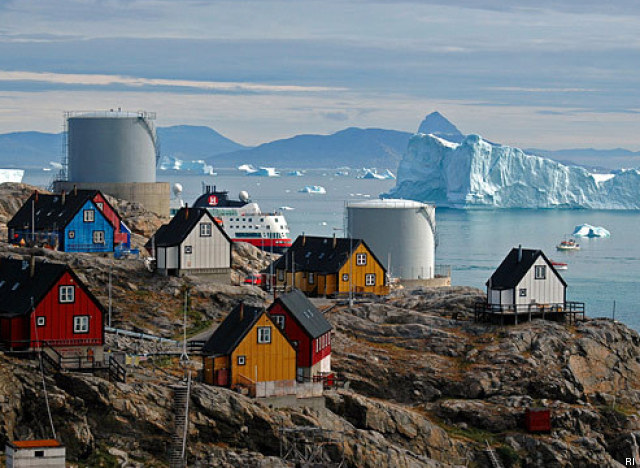 north ice greenland