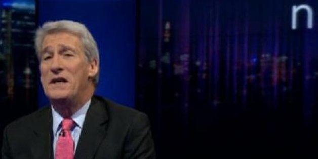 Jeremy Paxman's Beard is gone!