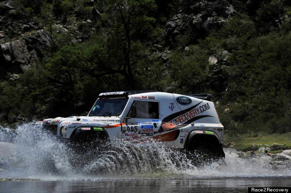 race2recovery dakar rally