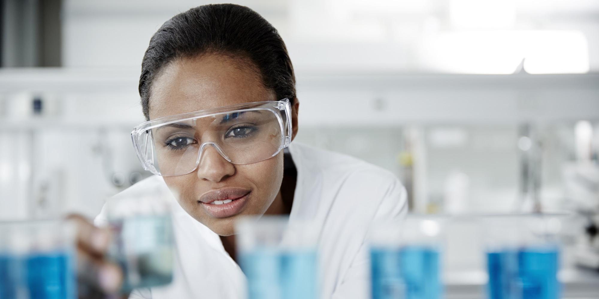 science scientist female stem pipeline leaky
