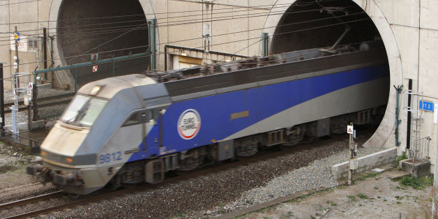 File photo dated 17/11/09 of a train leaving the Channel Tunnel as mobile phone services are to be enhanced for those travelling through the Channel Tunnel.