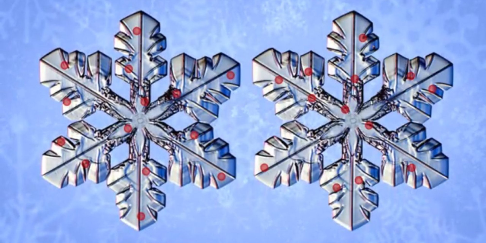 it u0027s true that no two snowflakes are alike but not for the reason