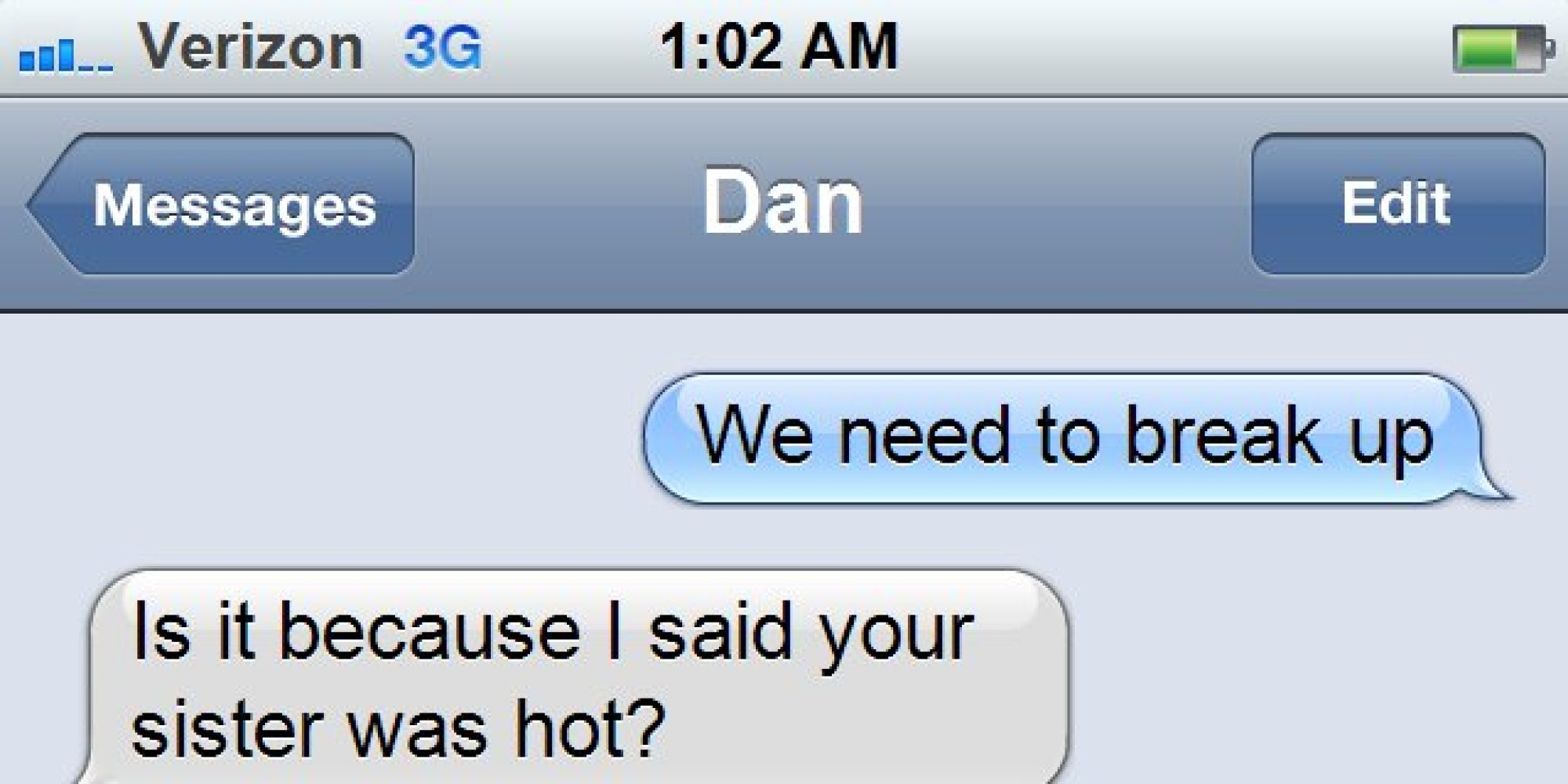 Texts From Quotes: Breakup Texts Are The Worst, But This One Is Actually