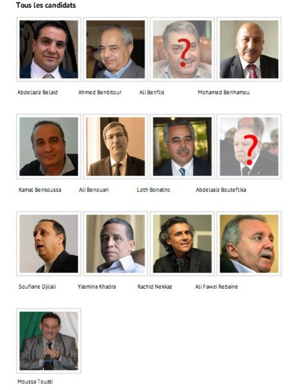 elections algerie