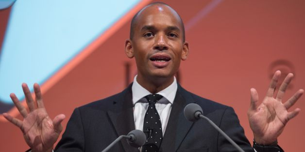 Shadow Business Secretary Chuka Umunna addresses the Institute of Directors (IoD) annual conference at the Royal Albert Hall in London.