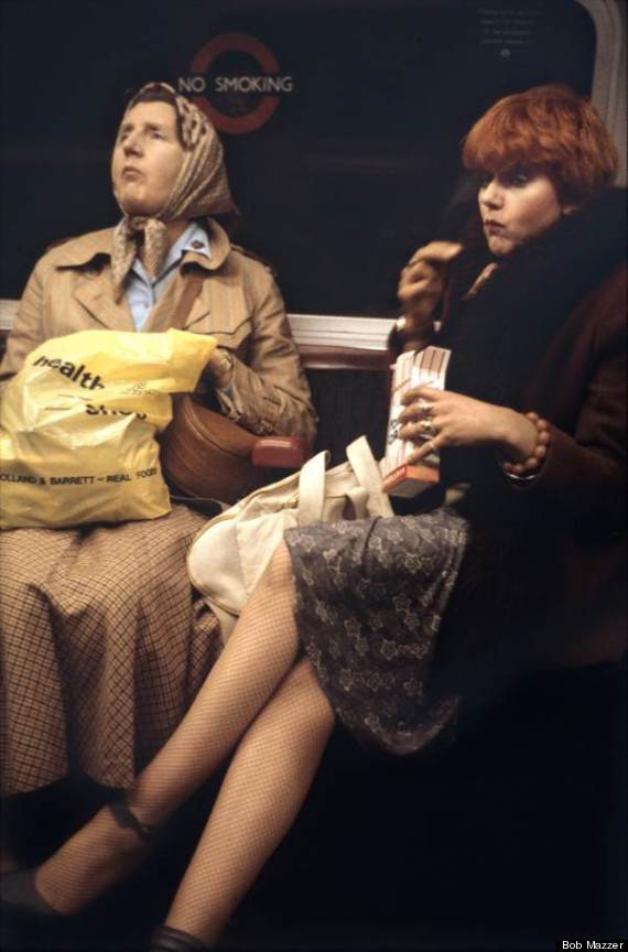 london underground bob mazzer