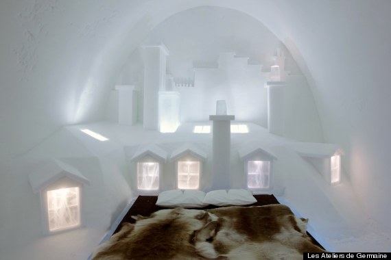 sweden paris ice hotel
