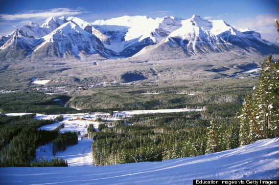 lake louise ski hill
