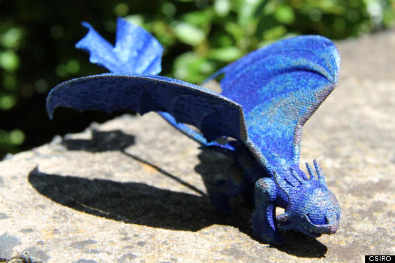 Australian Science Agency Send Girl 3D-Printed Dragon After She Wrote Letter Asking For A Real One