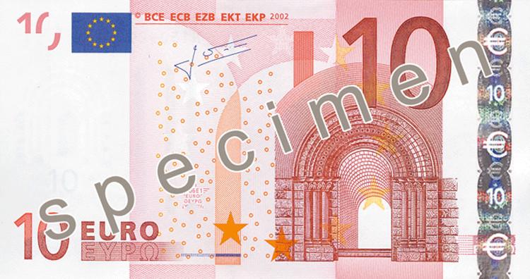 billet 10 euros