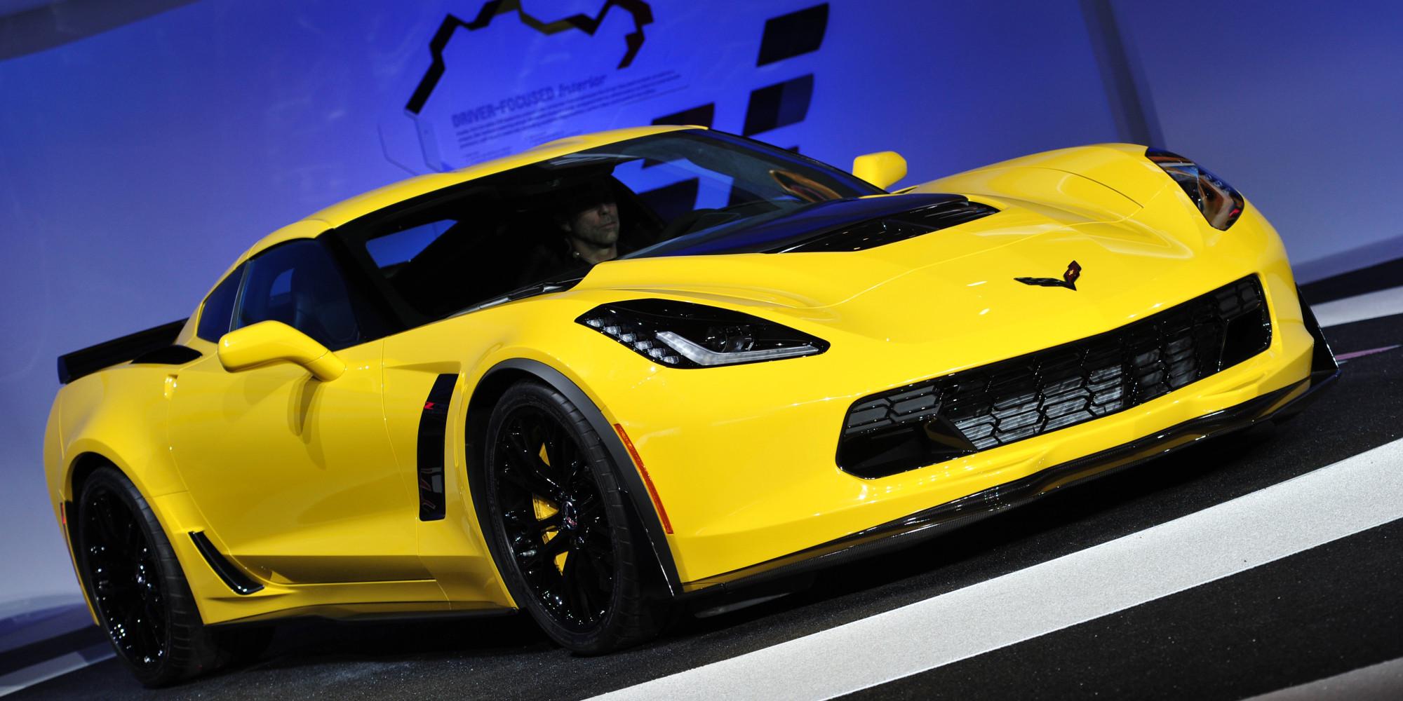 2015 Corvette Z06 Revealed At Detroit Auto Show PHOTOS