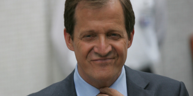 LONDON, UNITED KINGDOM - JUNE 19: Alastair Campbell Seen leaving ITV studios on June 19, 2012 in London, England. (Photo by Simon James/FilmMagic)