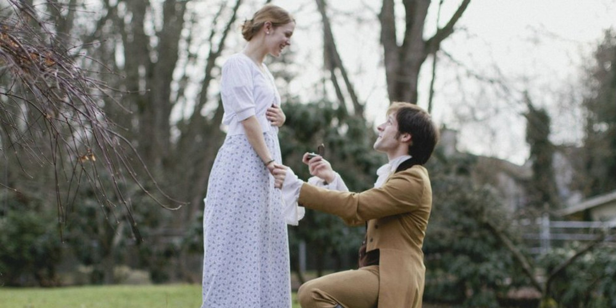 this pride and prejudice proposal will make you swoon huffpost