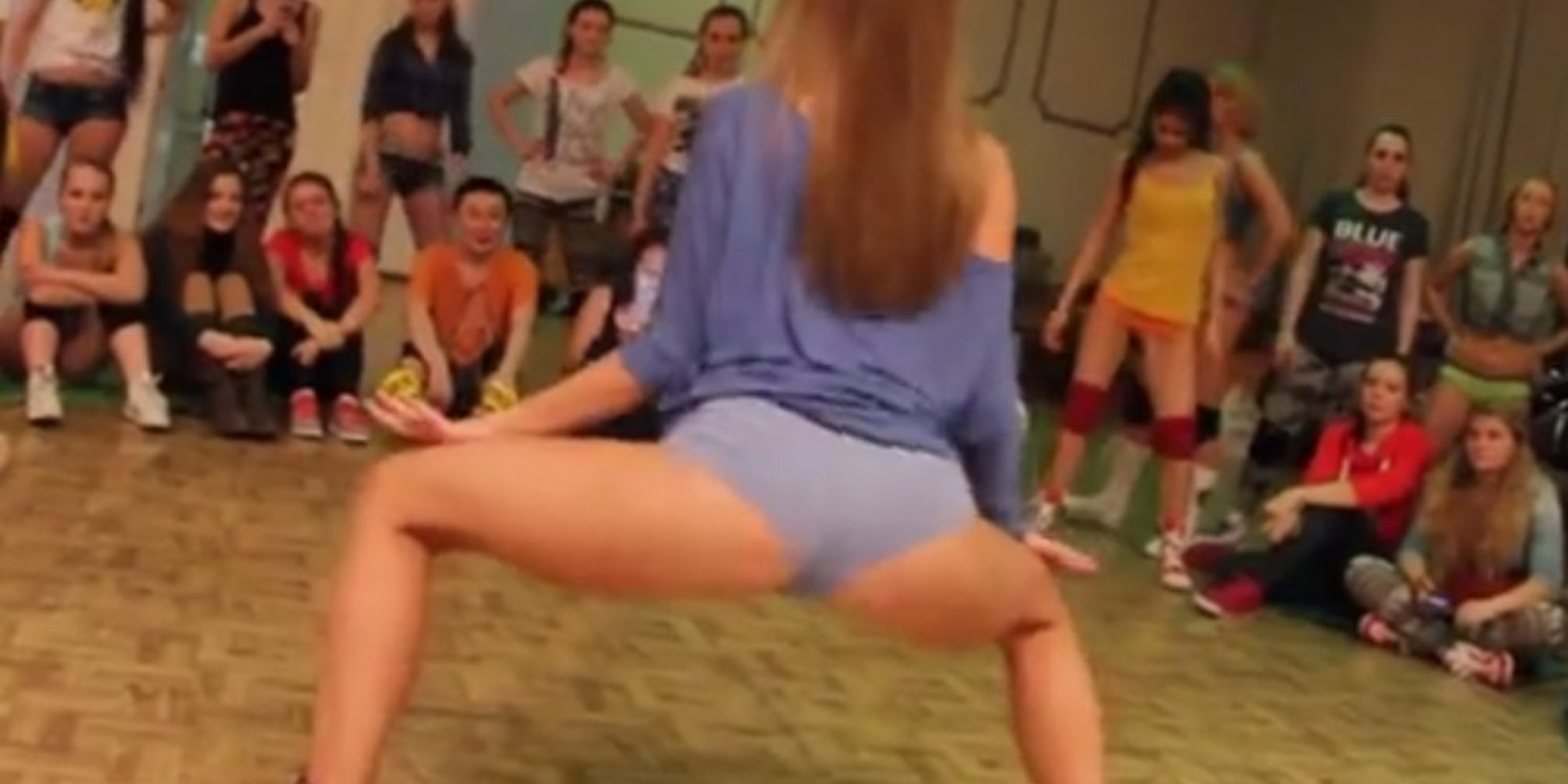 college coed twerk-off is just what you'd expect | huffpost