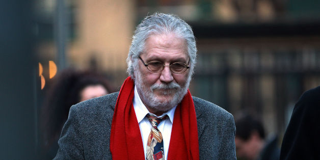 Former Radio 1 DJ Dave Lee Travis arrives for a pre-trial hearing at Southwark Crown Court in London where he faces sex charges.