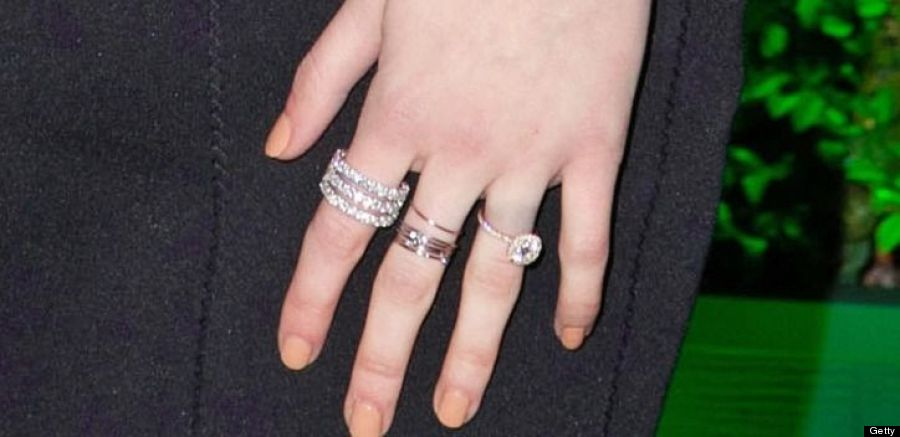 engagement bezel ring afford celebrity can stiles round we preston rings set and love julia cook absolutely
