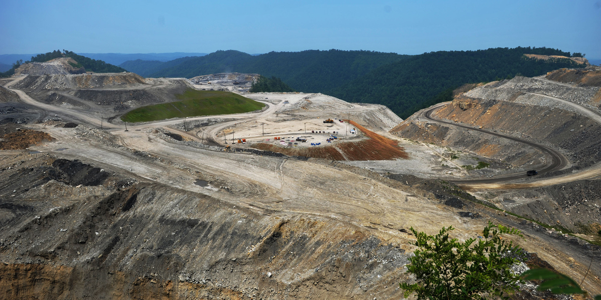 "a critique on the act of mountaintop removal in west virginia ""higher rates of birth defects and shorter life expectancy have been shown in mountaintop-removal areas compared to other parts of west virginia,"" he said the coal industry, however, says it's the victim of overregulation and that it can't be blamed for problems with the state's water wells."