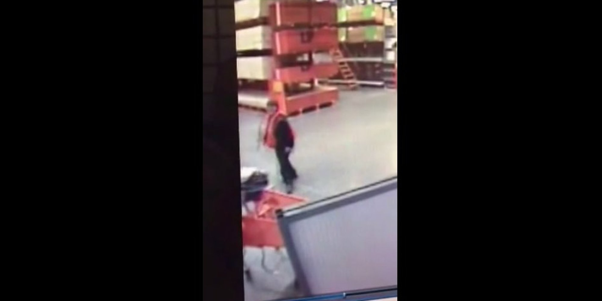 Home Depot Employee Heroically Catches Baby Falling From Ping