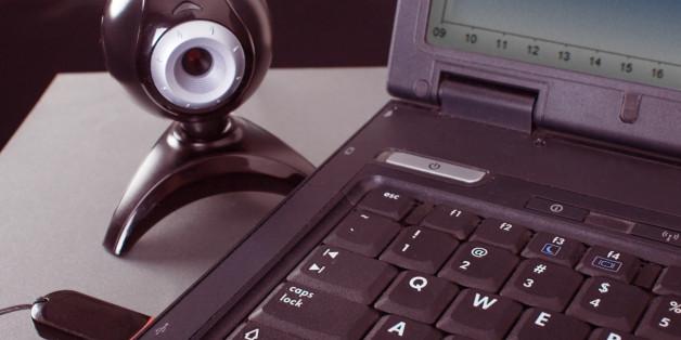 web camera at the laptop