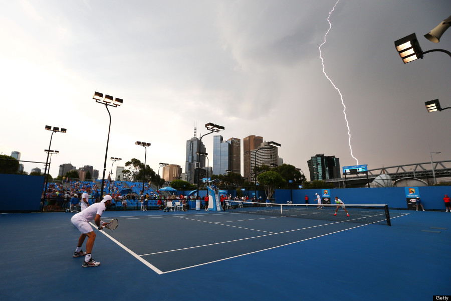 australian open weather