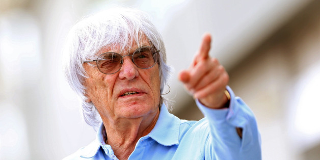 SINGAPORE - SEPTEMBER 19:  F1 Supremo Bernie Ecclestone walks in the paddock during previews for the Singapore Formula One Grand Prix at Marina Bay Street Circuit on September 19, 2013 in Singapore, Singapore.  (Photo by Mark Thompson/Getty Images)