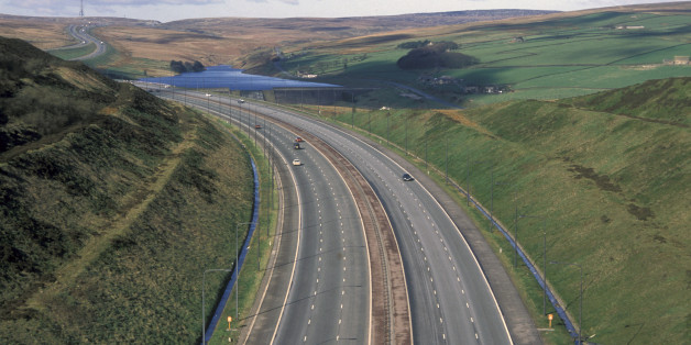 The incidents occurred on the M62 in Yorkshire, Leeds Crown Court heard (file picture)