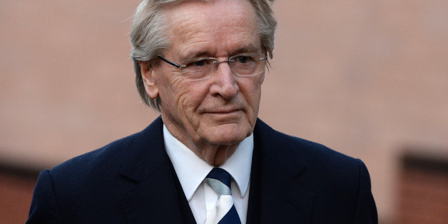 Coronation Street Star William Roache arrives at Preston Crown Court for the third day of his trial of historical sexual offence allegations on January 16, 2014 in Preston, Lancashire. Coronation Street star Roache who plays the character Ken Barlow on the ITV soap, is charged with two counts of rape involving a 15-year-old girl. The offences allegedly took place between April and July 1967. Roache is also charged with five counts of indecent assault against four girls between the ages of 11 or