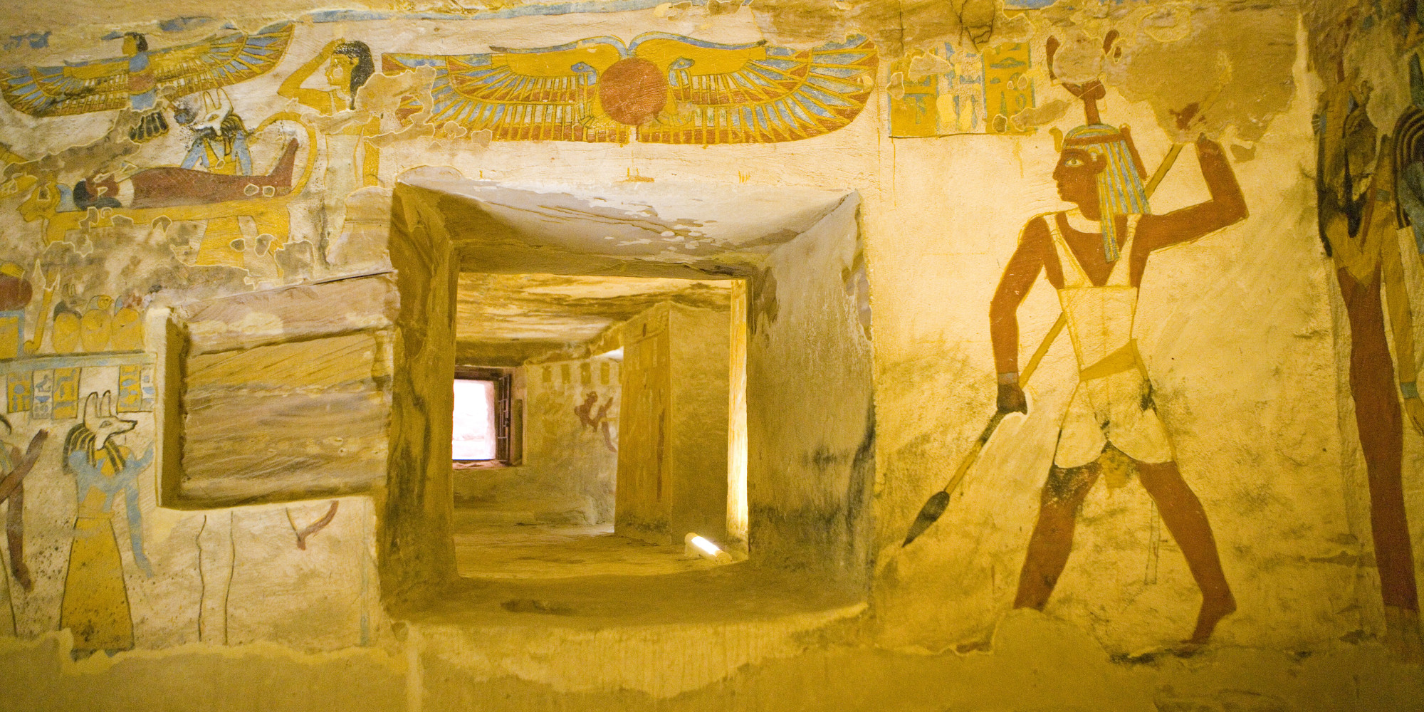 archaeologists stumbled upon missing tomb of god osiris in egypt