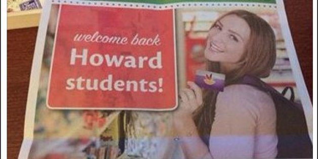 Local Supermarket Ad Welcoming Howard University Students Back To ...