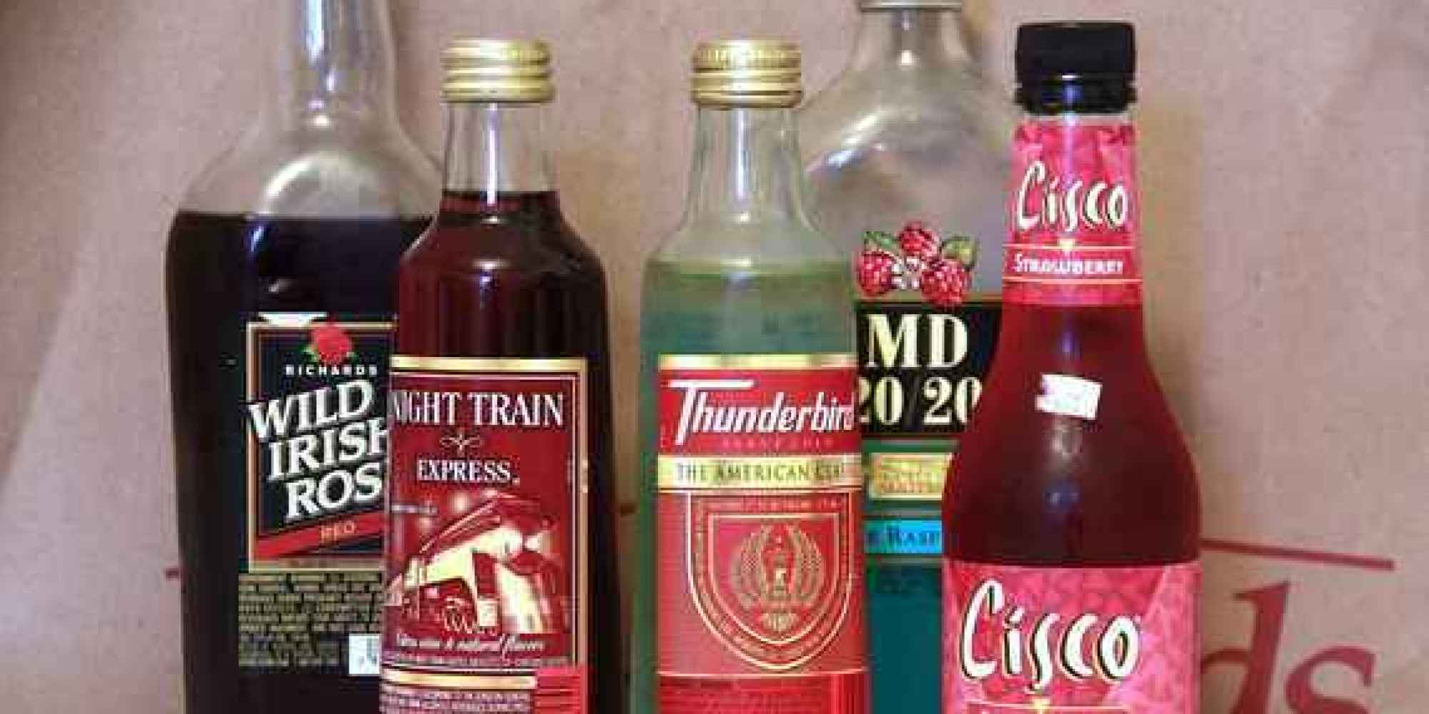 ranking the top 5 bum wines from thunderbird to mad dog