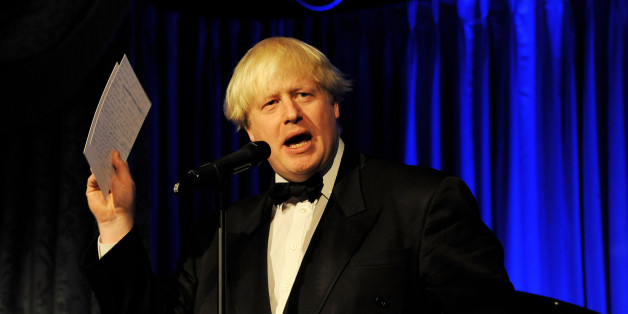 LONDON, ENGLAND - NOVEMBER 17:  Boris Johnson presents The Editor's Award at the 59th London Evening Standard Theatre Awards at The Savoy Hotel on November 17, 2013 in London, England.  (Photo by David M. Benett/Getty Images)