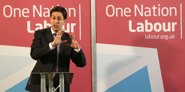 """File photo dated 9/7/2013 of Ed Miliband delivering a speech on One Nation Politics. Miliband is turning off voters by forcing MPs into a """"torturous repetition of political mantras"""" such as the party's """"One Nation"""" slogan, one of his backbenchers has warned."""
