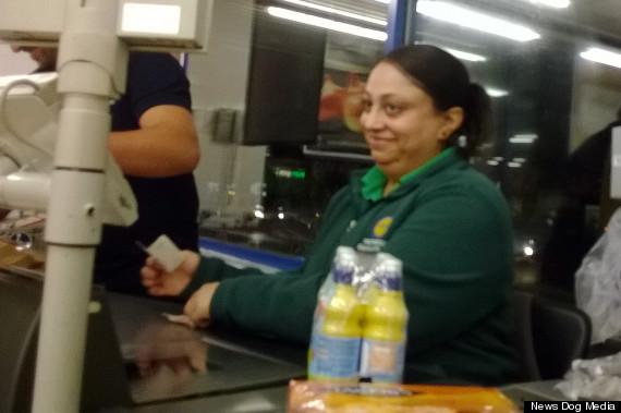 lidl cashier