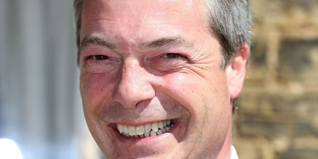 "File photo dated 01/05/13 of Ukip leader Nigel Farage, as the UK Independence Party leader said he backed the ""basic principle"" of the warnings about mass immigration made by Enoch Powell in his notorious ""rivers of blood"" speech."