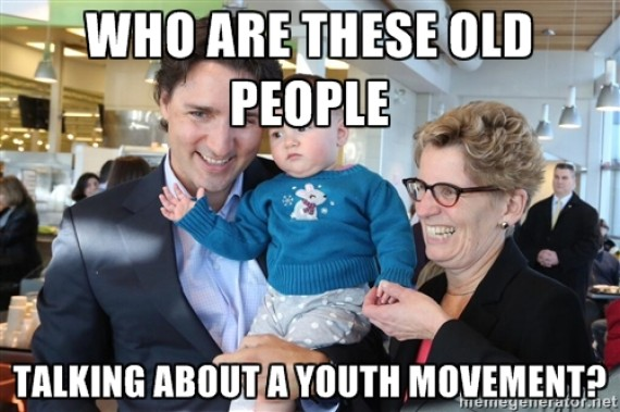 trudeau baby 1