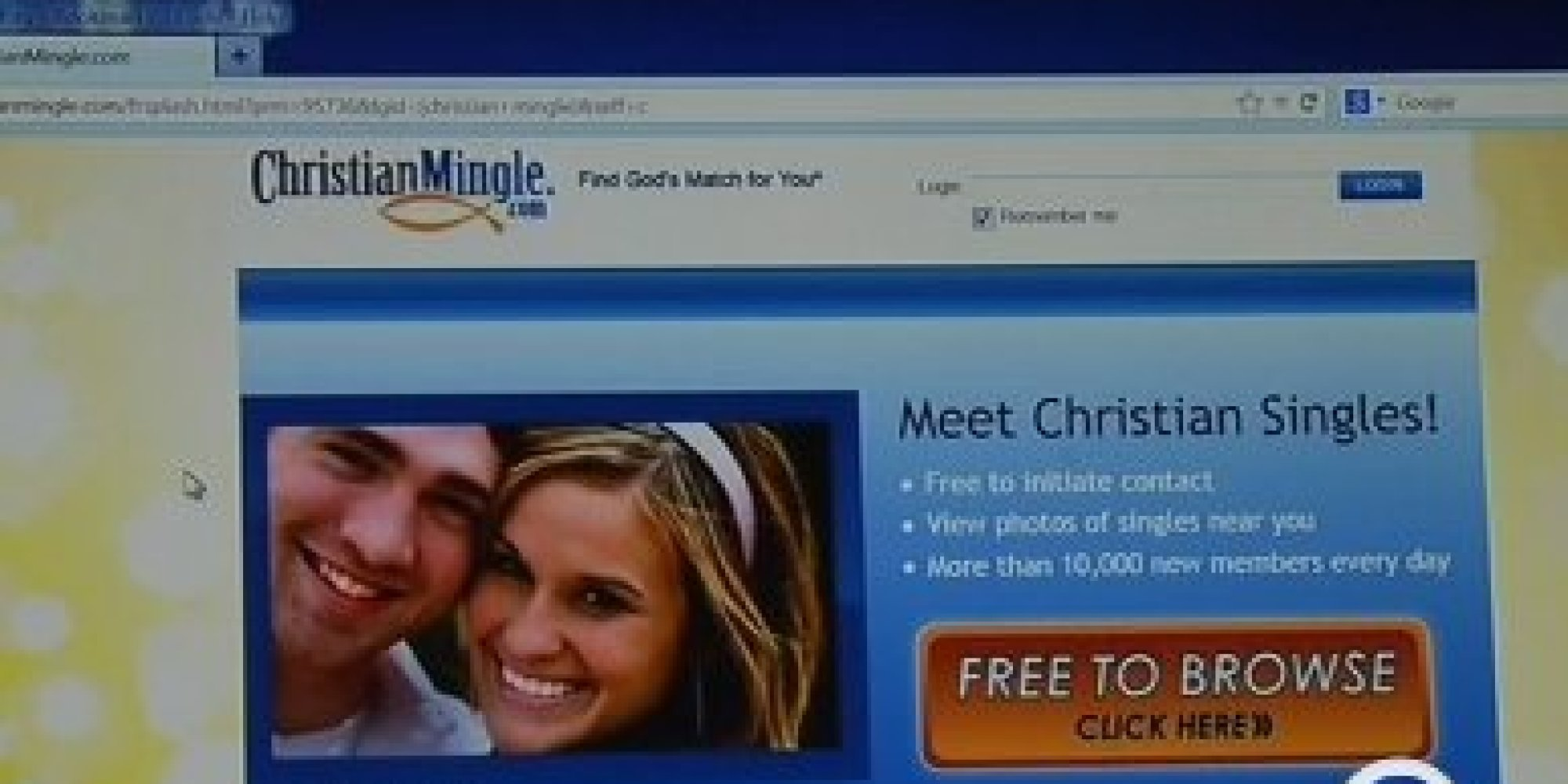 Christian dating website scams