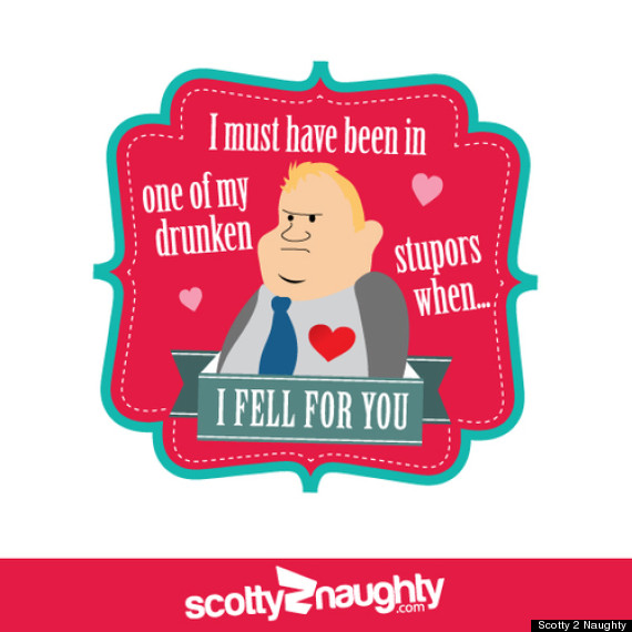 rob ford valentines